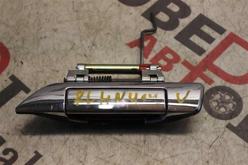 Ручка двери внешняя Nissan Bluebird HNU14 SR20 (DE) 1999 задняя левая