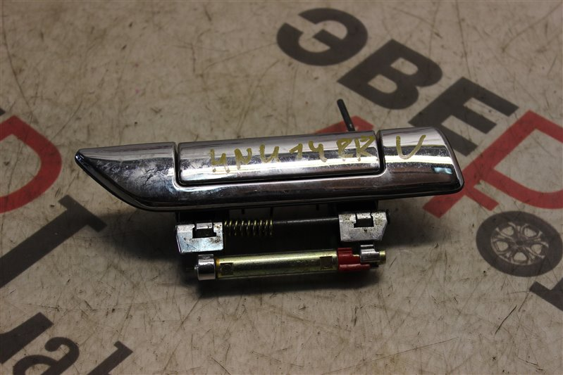 Ручка двери внешняя Nissan Bluebird HNU14 SR20 (DE) 1999 задняя правая