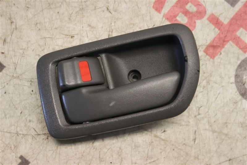 Ручка двери внутренняя Toyota Corona Premio ST210 3S-FSE 1999 задняя левая