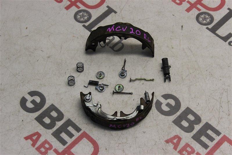 Зажим тормозной колодки Toyota Windom MCV20 1MZ-FE 2000 задний левый