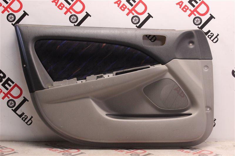 Обшивка двери Toyota Caldina ST215 3S-GE BEAMS 1998 передняя левая