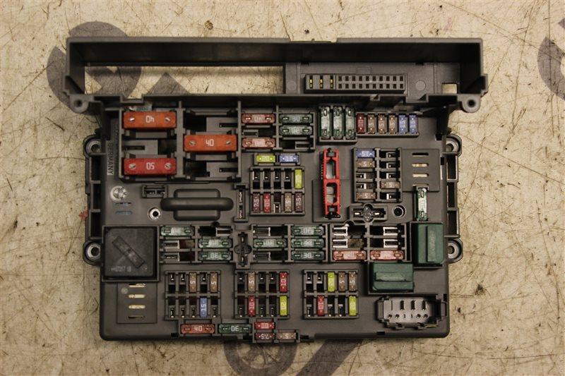 Блок предохранителей салона Bmw 3-Series 320I Touring E91 N46B20B 2008