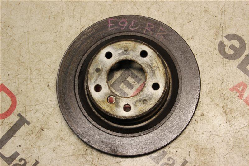 Тормозной диск Bmw 3-Series 323I E90 N52B25A 2008 задний
