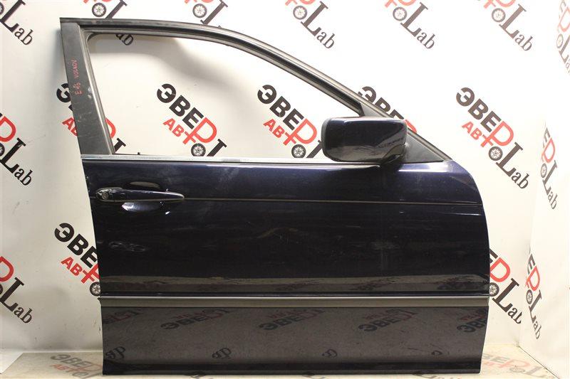 Дверь Bmw 3-Series 320I E46 M54B22 2004 передняя правая