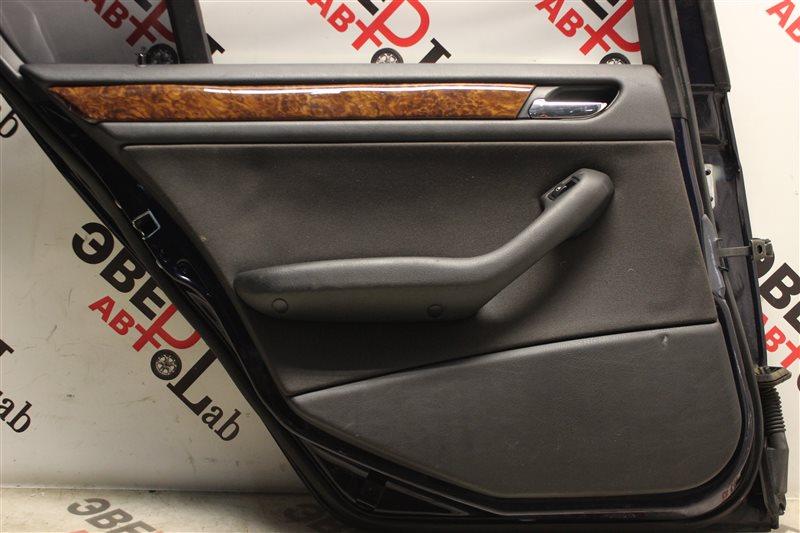Обшивка двери Bmw 3-Series 320I E46 M54B22 2004 задняя левая