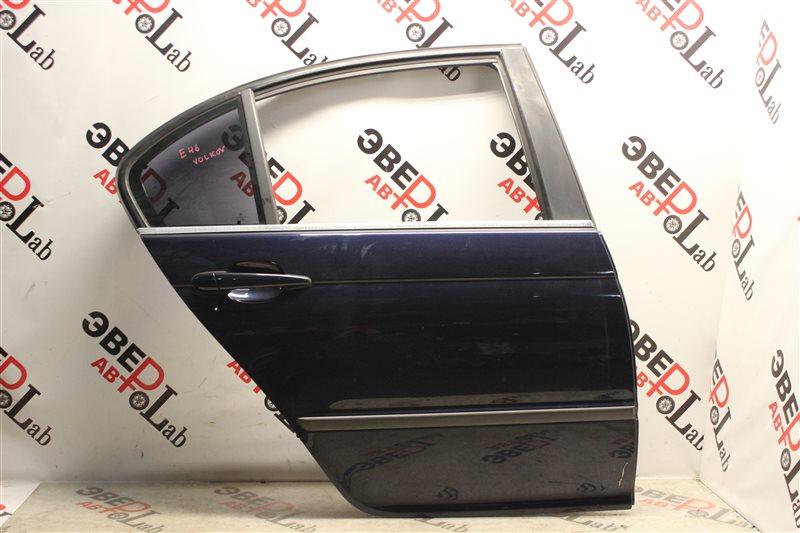 Дверь Bmw 3-Series 320I E46 M54B22 2004 задняя правая
