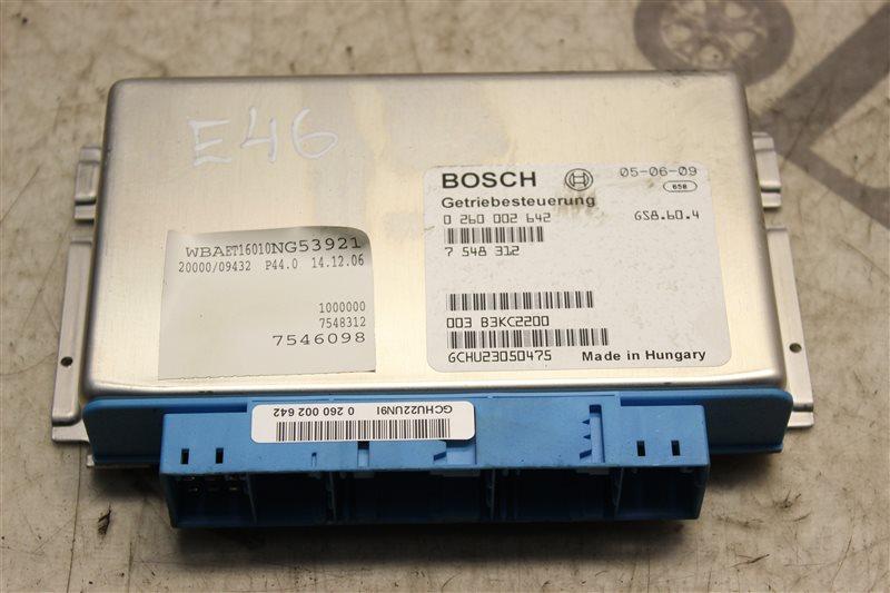 Блок управления акпп Bmw 3-Series 320I E46 M54B22 2004