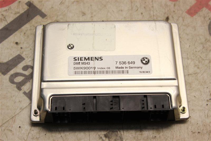 Блок управления efi Bmw 3-Series 320I E46 M54B22 2004