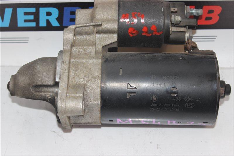 Стартер Bmw 3-Series 320I E46 M54B22 02/2003