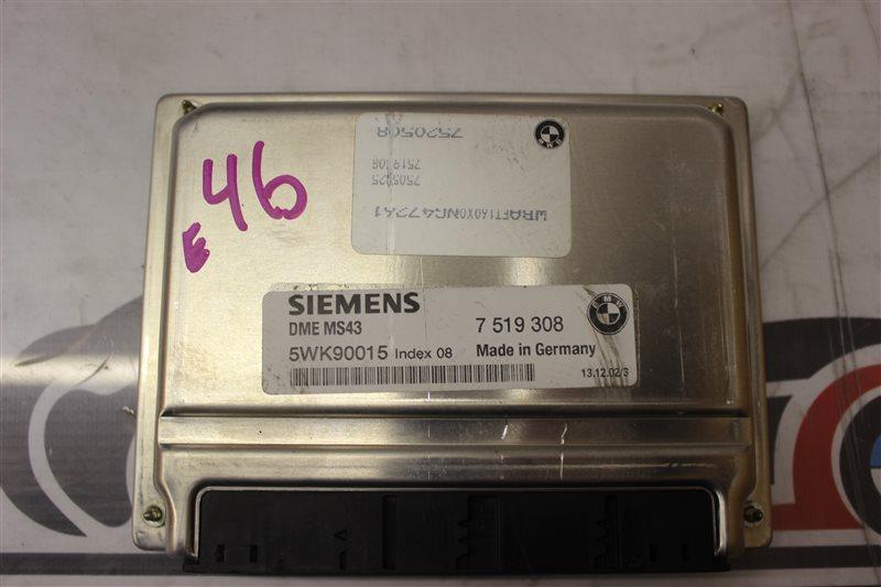 Блок управления efi Bmw 3-Series 320I E46 M54B22 02/2003