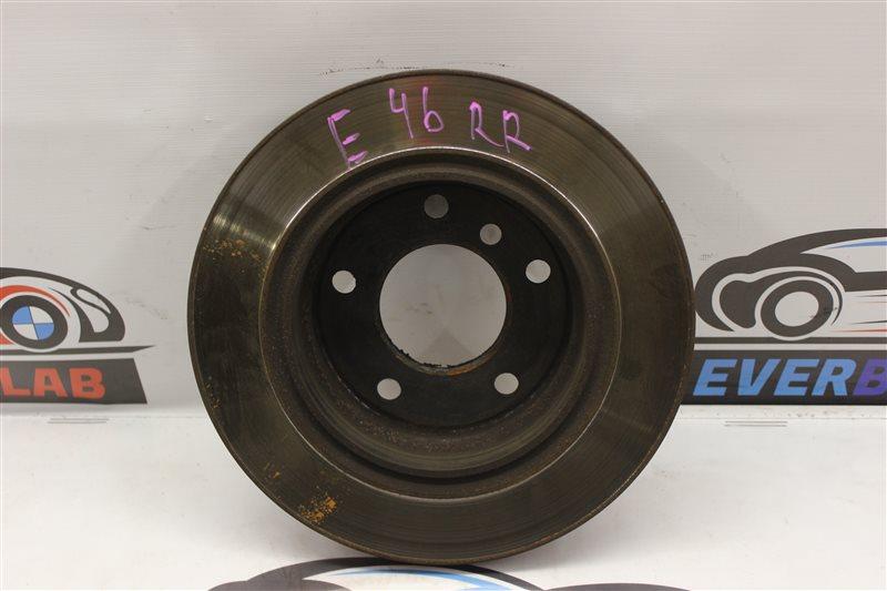 Тормозной диск Bmw 3-Series 318I E46 N46B20A 2005 задний