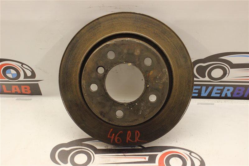 Тормозной диск Bmw 3-Series 318I E46 M43TU 06/2001 задний