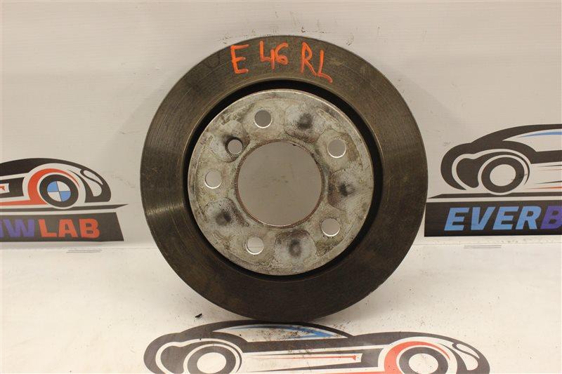 Тормозной диск Bmw 3-Series 318I E46 N42B20A 06/2003 задний