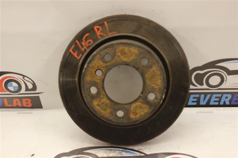 Тормозной диск Bmw 3-Series 320I E46 M54B22 02/2003 задний