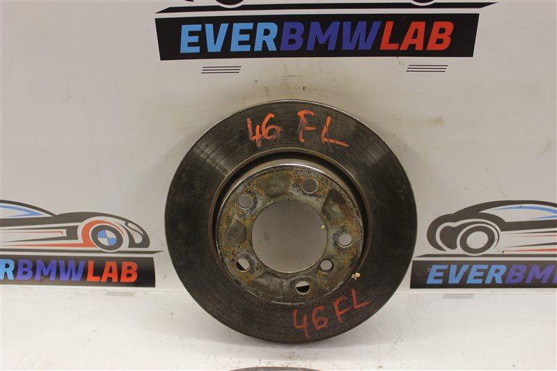 Тормозной диск Bmw 3-Series 318I E46 N46B20A 2005 передний левый