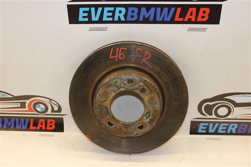 Тормозной диск Bmw 3-Series 318I E46 M43TU 06/2001 передний правый