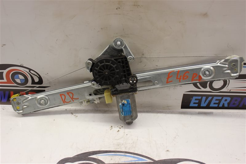 Стеклоподъемник Bmw 3-Series 318I E46 N42B20A 06/2003 задний правый