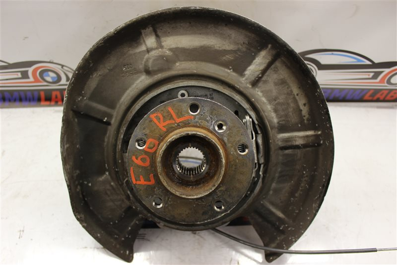 Ступица Bmw 5 Series 530I E60N N52B30A 03/2008 задняя левая