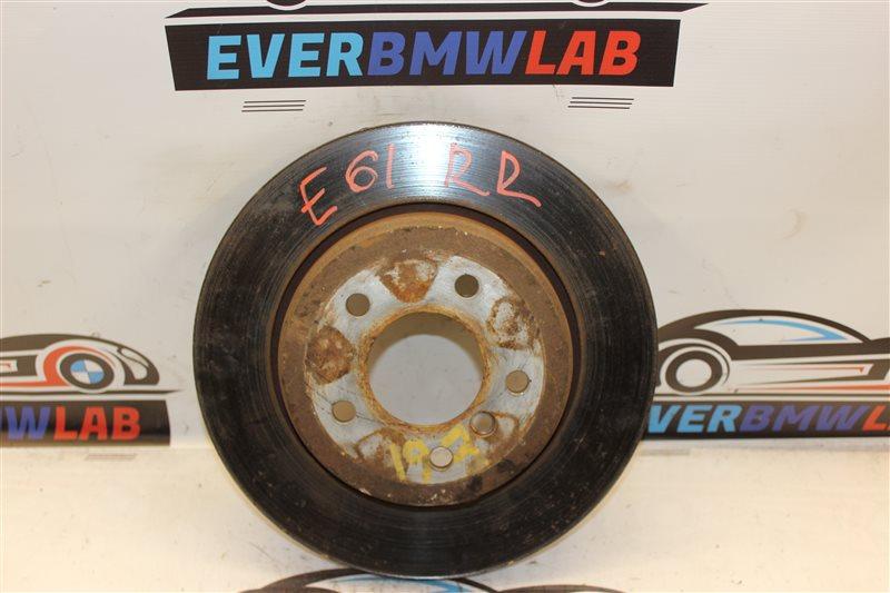 Тормозной диск Bmw 5 Series 525I E61 M54B25 (256S5) 04/2004 задний