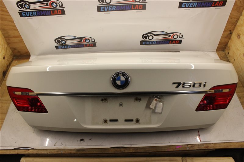 Крышка багажника Bmw 7 Series E65 N62B48B 05/2007