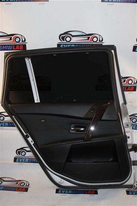 Обшивка двери Bmw 5 Series 525I E61 M54B25 (256S5) 04/2004 задняя левая