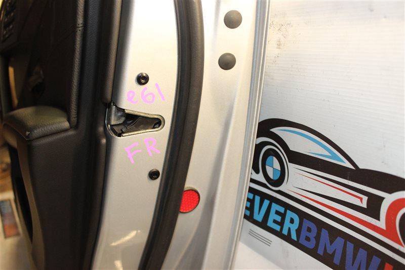 Замок двери Bmw 5 Series 525I E61 M54B25 (256S5) 04/2004 передний правый