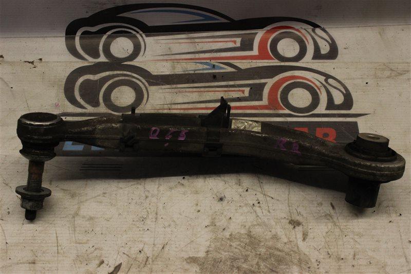 Рычаг подвески Bmw 7 Series E65 N62B48B 05/2007 задний правый