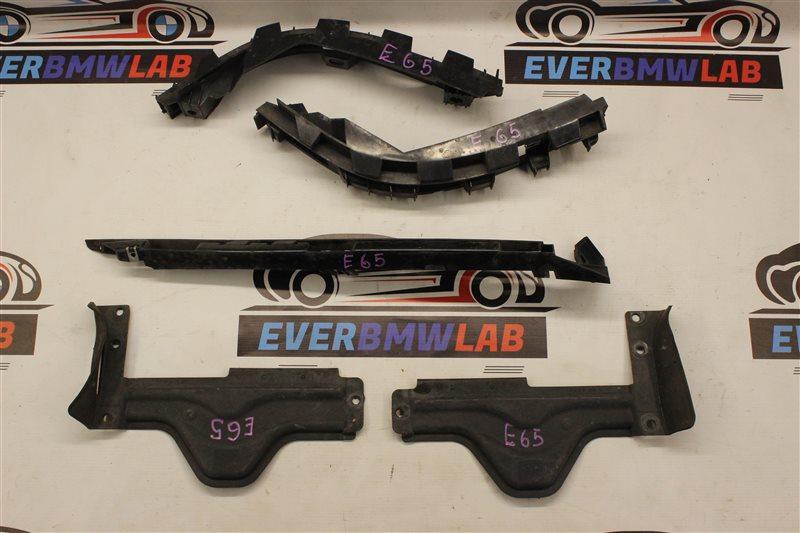 Крепление бампера Bmw 7 Series E65 N62B48B 05/2007 заднее