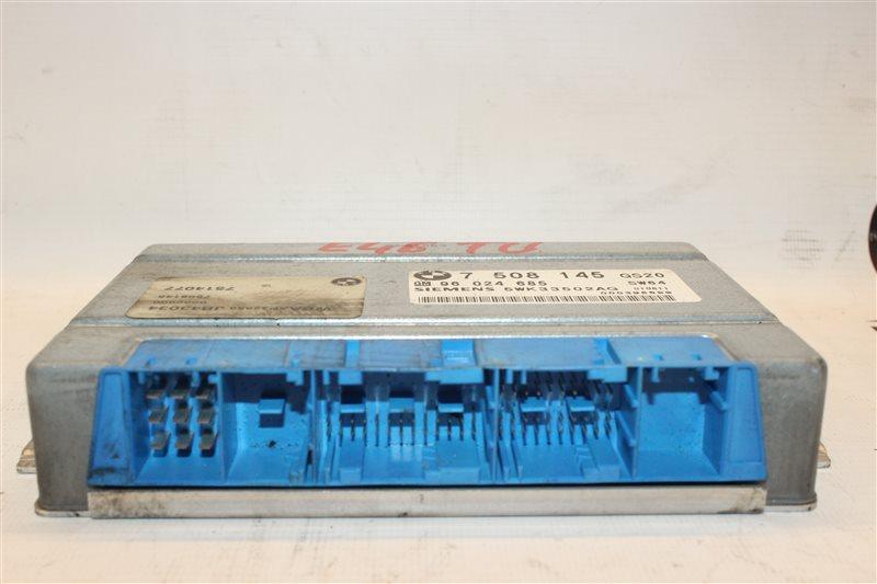Блок управления Bmw 3-Series 318I E46 M43TU 06/2001