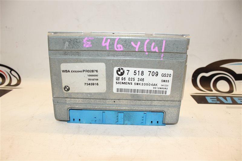 Блок управления акпп Bmw 3-Series 318I E46 N46B20A 2005
