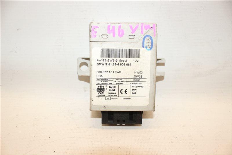 Блок управления Bmw 3-Series 318I E46 N46B20A 2005