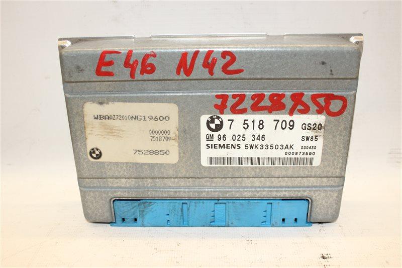 Блок управления акпп Bmw 3-Series 318I E46 N42B20A 06/2003