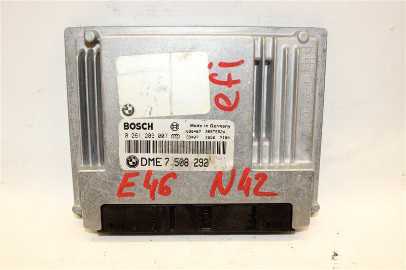 Блок управления efi Bmw 3-Series 318I E46 N42B20A 06/2003