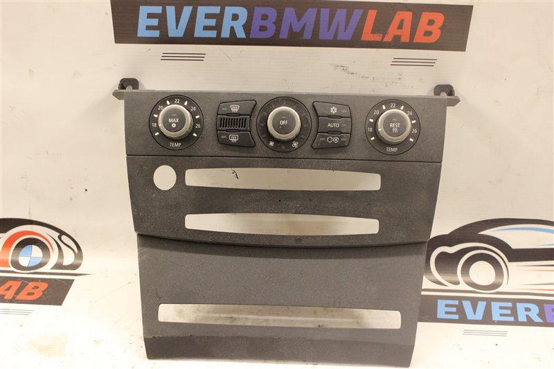 Блок управления климат-контролем Bmw 5 Series 525I E61 M54B25 (256S5) 04/2004