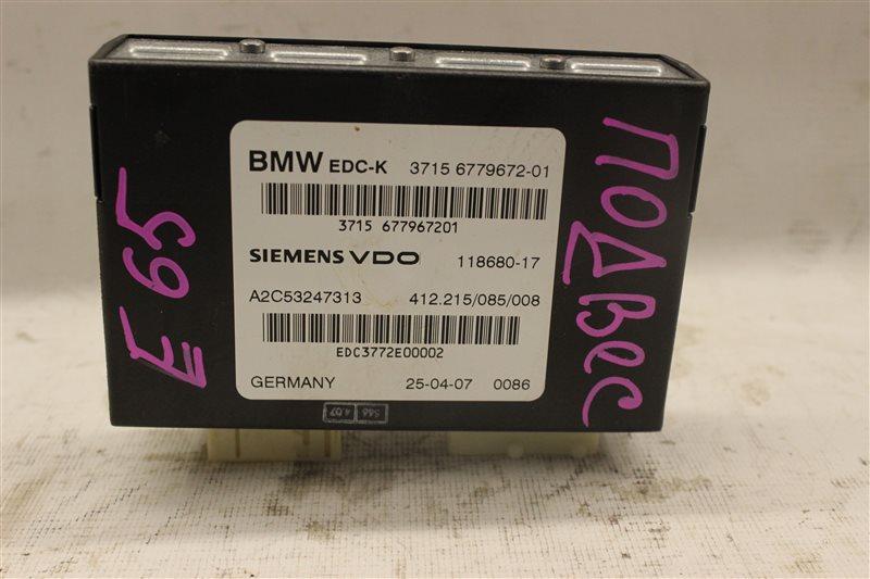 Блок управления подвеской Bmw 7 Series E65 N62B48B 05/2007
