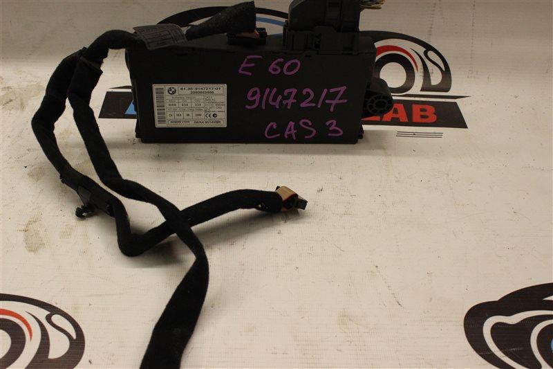 Блок управления Bmw 5 Series 530I E60N N52B30A 03/2008