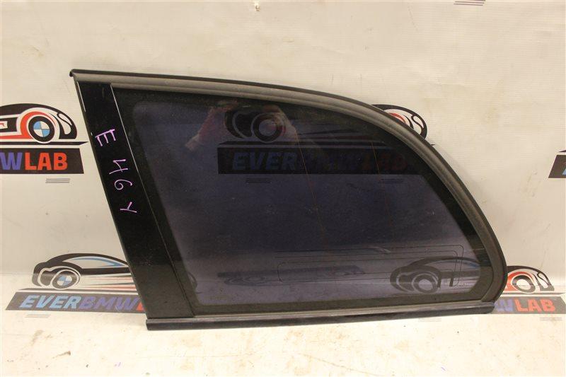 Стекло Bmw 3-Series 318I E46 M43TU 06/2001 заднее левое