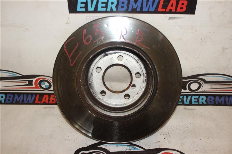 Тормозной диск Bmw 7 Series E65 N62B48B 05/2007 задний
