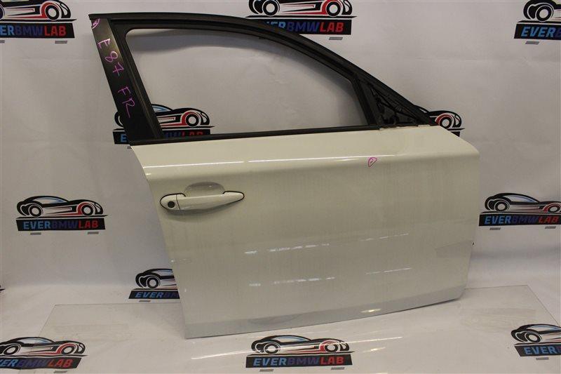 Дверь Bmw 1 Series E87N N45B16A 03|2007 передняя правая