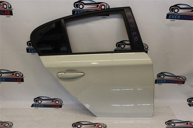 Дверь Bmw 1 Series E87N N45B16A 03|2007 задняя правая