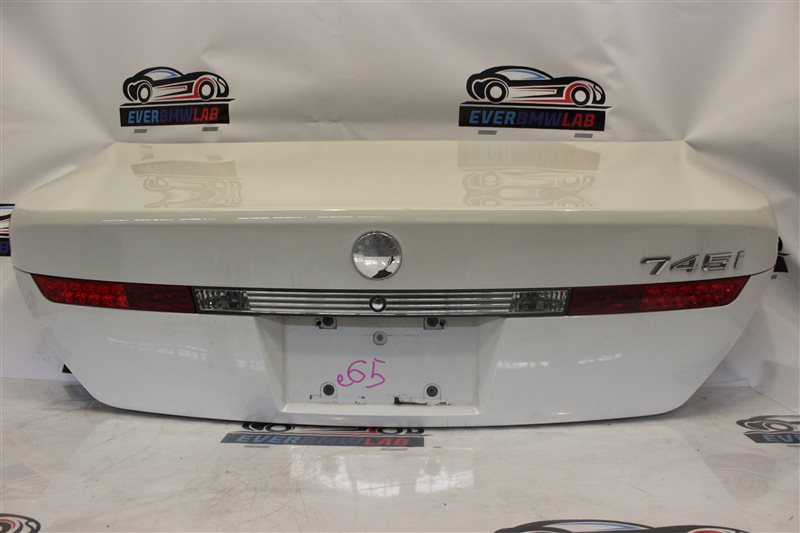 Крышка багажника Bmw 7 Series 745I E65 N62B44A. 12/2002