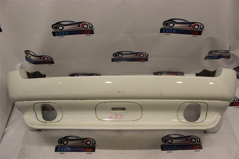 Бампер Bmw X5 E53 SAV 306S3 М54B30 03/2003 задний