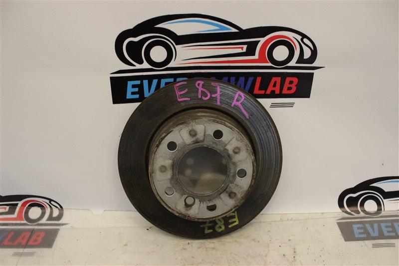 Тормозной диск Bmw 1 Series E87N N45B16A 03|2007 задний