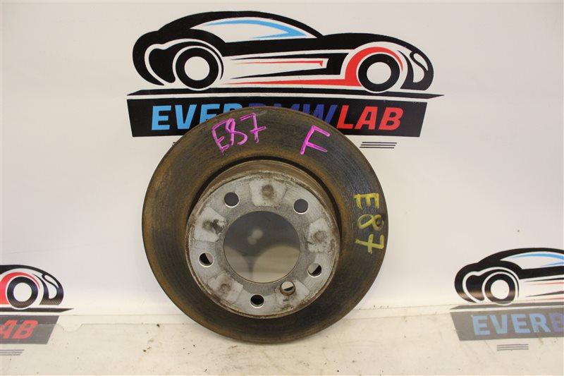 Тормозной диск Bmw 1 Series E87N N45B16A 03|2007 передний