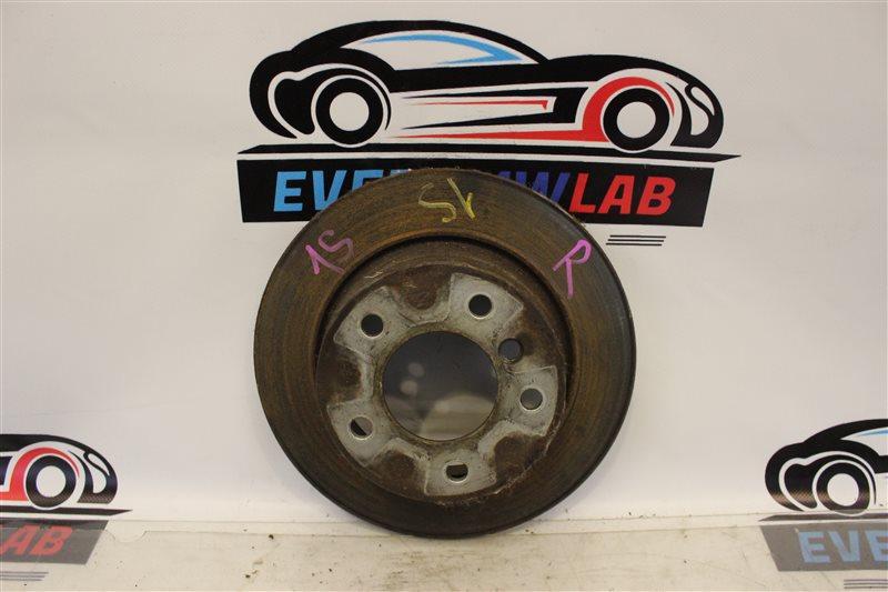 Тормозной диск Bmw 1 Series E87 N46B20B 06/2006 задний
