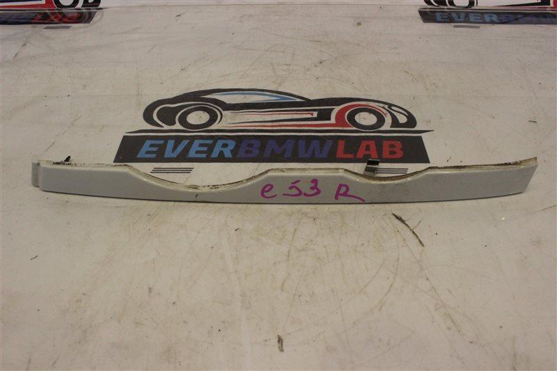 Планка под фары Bmw X5 E53 SAV 306S3 М54B30 03/2003 передняя левая