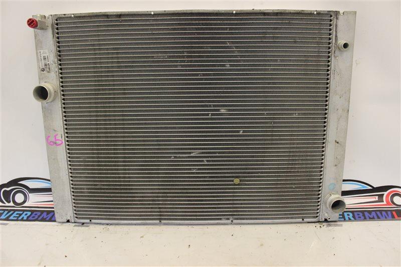 Радиатор охлаждения двс Bmw 7 Series 745I E65 N62B44A. 12/2002