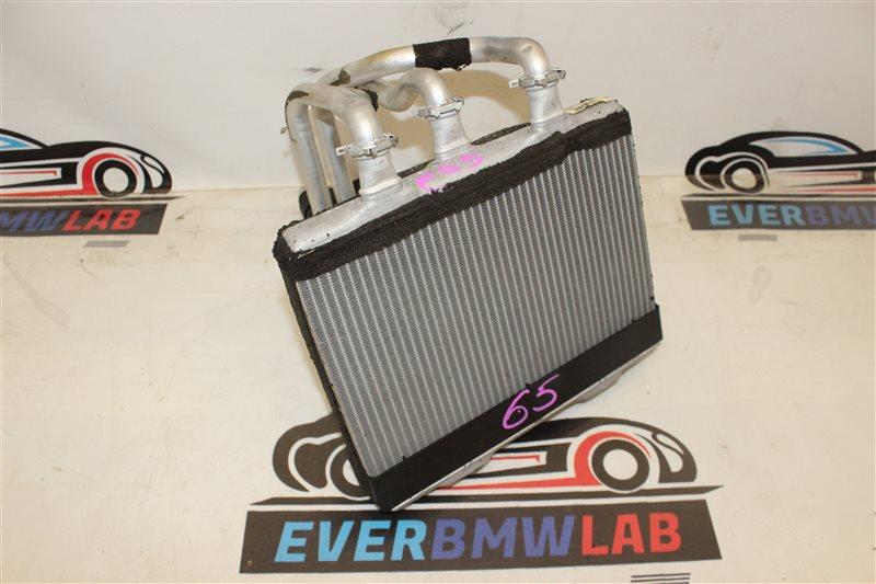 Радиатор печки Bmw 7 Series 745I E65 N62B44A. 12/2002
