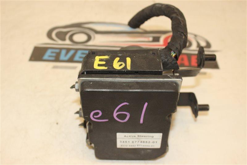 Блок управления abs Bmw 5 Series 525I E61 N52B25A 12/2005