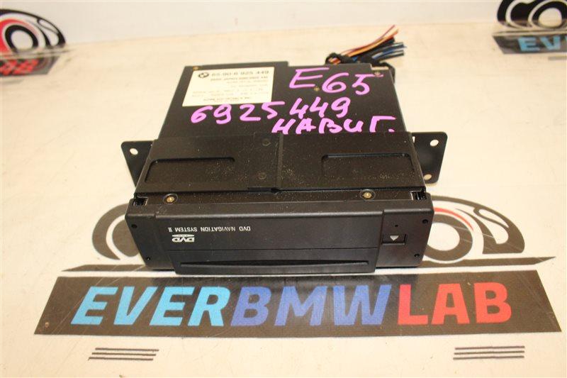 Блок навигации Bmw 7 Series 745I E65 N62B44A. 12/2002